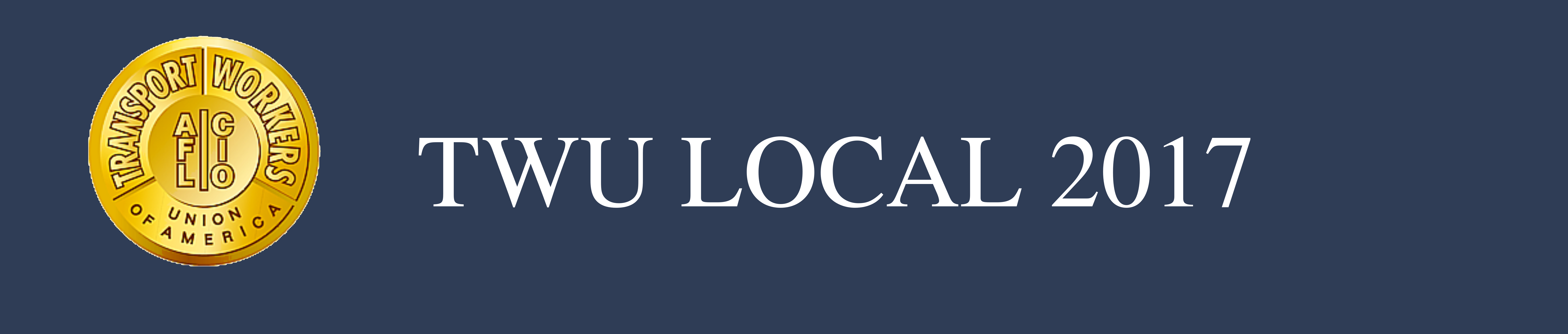 TWU Local 2017 Logo